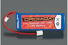 Dromida #didc1134 batería Lipo 2s 7.4V 20c 1600mAh