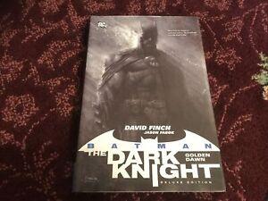 Batman The Dark Knight Golden Dawn HC Deluxe Edition #1-1ST FN 2012 New!