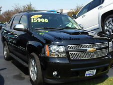 2002-2013 Hood Scoop for Chevrolet Avalanche By MRHoodScoop UNPAINTED HS002