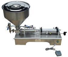 110V 5-100ml Semi-automatic Paste Shampoo Liquid Filling Machine