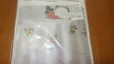 Square Embroidery Tablecloth Kit 100% cotton fabric and thread 80CMx80CM