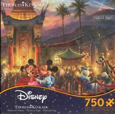 Thomas Kinkade Mickey and Minnie Hollywood Ceaco Jigsaw Puzzle 2018 NIB