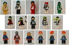 LEGO MINIFIGURES SPACE anni 1980 1990 originali. Seleziona e scegli le quantità