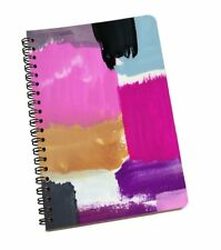 Abstract Printed 120 Page Notebook Wire Bound Paper Sheet A5 Sheet Diary School