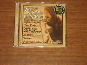 White Winter Hymnals Various Artists Uncut Magazine 2009 CD