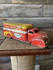 Vintage Marx Tin Toy Truck Marx Hi-Way Express Toy Truck