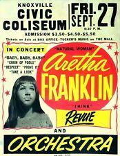 Civic Coliseum - Concert VINTAGE BAND POSTERS Song Rock Travel Old Advert #ob