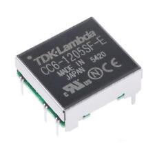 1 X TDK-Lambda ISOLATO CONVERTITORE CC-CC cc6-1205sf-e, 500v AC, CAT 5v DC