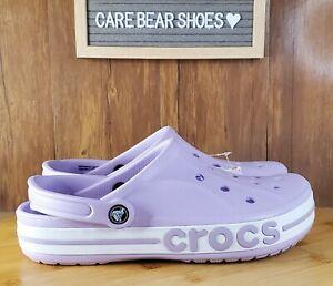 Crocs Bayaband 205089-530 US Size Mens 8 Womens 10 Purple Lavender Purple Unisex