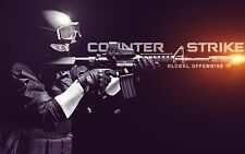 Counter Strike Global Offensive FPS CS Silk Poster Decoration Print T0046