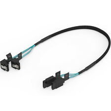 ORICO 2 Pack SATA III Hard Disk SSD Data Cable SATA 3.0 Adapter 90°Right -Angel