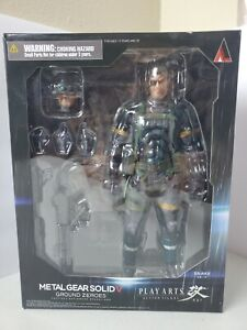 Play Arts Kai Metal Gear Solid V Sneaking Suit Version Snake Ground Zeroes
