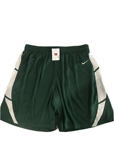 Nike Women's Spartacus Shorts, Green with White Trim, Size XXL, NWT