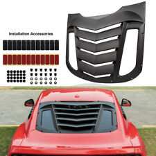 Rear Window Louver Sun Shade Cover Installation Accessory For Ford Mustang V6 GT