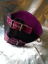 Handmade leather Corset Belt .Any size /colour Bondage  fetish