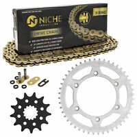 Sprocket Chain Set for Yamaha YZ450 13/48 Tooth 520 X-Ring Front Rear Combo Kit
