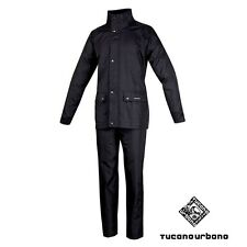 GIACCA+ PANTALONE SET DILUVIO PLUS 534P ANTIPIOGGIA TUTA RAIN TOWER TESTED XS