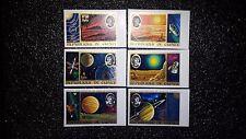 Guinea, Postage Stamp, Sc# #653-658 Mint NH OG Imperf. set (B-187)