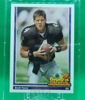 1991 Brett Favre rookie card #647 upper deck Football Card mint crisp corners