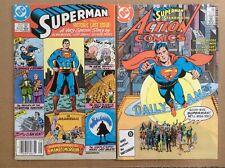 Action Comics 583 F+ Superman 423 F/VF DC Alan Moore Lot