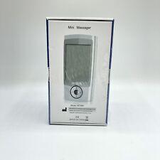 Nursal AS1080 Electric Mini Massager HPC0037 Portable TENS Muscle Massage Unit