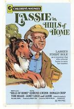 THE HILLS OF HOME Movie POSTER 27x40 Edmund Gwenn Janet Leigh Lassie Tom Drake