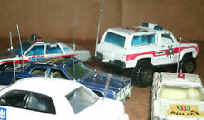 Twelve 1/64 Scale Police Fire Ambulance Radio Antennas For Model Cars - Whip CB