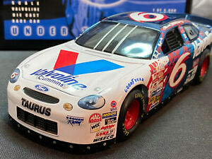 Racing Champions #6 Mark Martin Under The Lights Ford Taurus NASCAR 1/24 Diecast