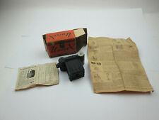 Vintage Univex Model A Camera With Box and Instructions Universal Camera Corp