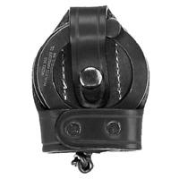 Aker Leather A503A-BP Black Cowhide Bikini Handcuff Case For ASP Cuffs