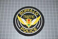 Buffalo New York Traffic Police Patch (B17-S)
