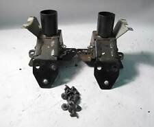 BMW Z3 Roadster Rollover Roll Bar Support Bracket Pair w Bolts 1997-2002 OEM