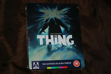 The Thing OOP Arrow Limited Steelbook Blu - Kurt Escape from New York Russell