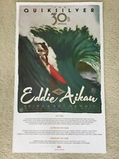 Eddie Aikau Waimea Bay Big Wave Invitational Surf Event Poster (2014-2015)