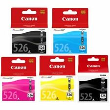 Canon PGI525 CLI526 5 inchiostro Bundle ORIGINALE 525 & 526 inchiostri iP4850 MX895 MX885 MX