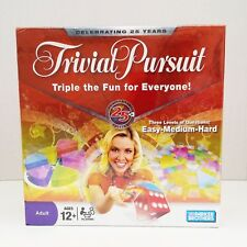 Trivial Pursuit 25th Anniversary Edition 2008 Parker Brothers NIB & SEALED
