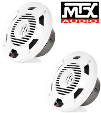 MTX WET77-W 7.7 inch 75W RMS 4Ω Coaxial Marine Speaker Pair  FREE SHIPPING