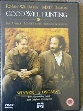 Good Will Hunting DVD (1999) Robin Williams