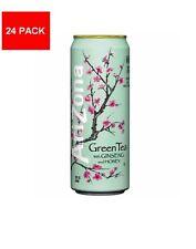 Arizona Green Tea W/Ginseng and Honey 24ct- 100% Natural, FREE SHIPPING!