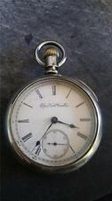 VINTAGE 18 SIZE ELGIN POCKETWATCH GRADE 73 FROM 1894