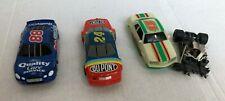 Life-Like ho scale Nascar # 88 Jarrett #24 Gordon & parts car lot of 3 Tuned up