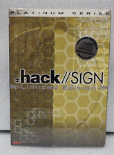 .hack // Sign Limited Edition DVD Ver 2 Outcast with CD (Factory Sealed)