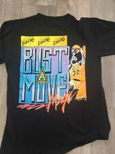 Vintage Magic Johnson T's Los Angeles Lakers Tee T-shirt Size Medium  NBA Jordan