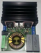 High Power ZVS Driver mit Kühlkörper, 24V 20A flyback driver, high voltage