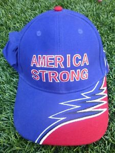 96 AMERICA STRONG CAP HAT 100% COTTON ADJUSTABLE NEW