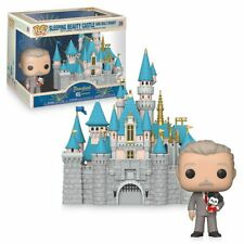 Disneyland 65th Anniversary Sleeping Beauty Castle with Walt Disney Funko Pop