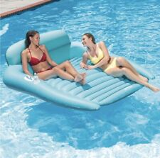 Intex Inflatable Floating Lounge Pool Double Lounger With 2 Cup holders Brand Ne