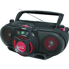 Naxa Portable Radio MP3 CD Player Cassette Recorder Boombox With AUX | NPB-259