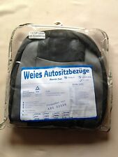 K/   Weies Auto Sitzbezüge VW Golf 3 4 5 Polo Lupo Passat Bora  Audi A4 A6 80 ++