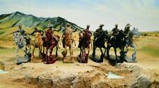 Toy Soldiers of San Diego American Cavalry Horse Soldiers 1860-1880 Gray TSSD24A